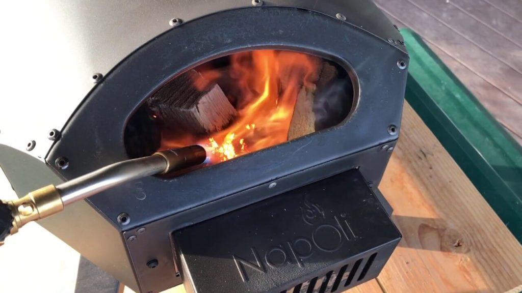 Portable Wood Fired Pizza Oven